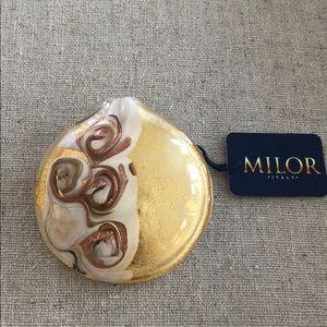 Jewelry - Murano glass round pendant